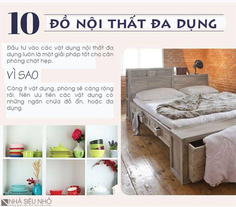 10. Đồ nội thất đa dụng