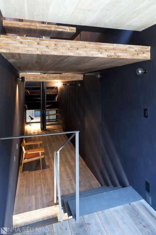 Ngôi nhà sinh động vì cốt nhà thay đổi, không gian mở