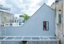 Căn nhà nhỏ xinh 16m2, sâu 2.5m giữa lòng Sài Gòn