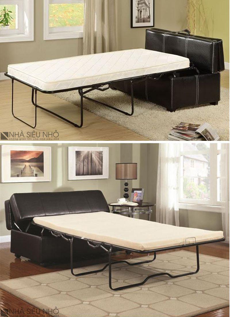 Ghế Sofa Bed- nội thất thông minh cho nhà nhỏ