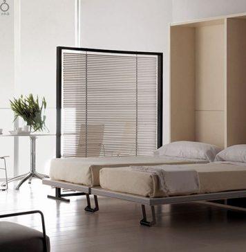 Giường gập nội thất thông minh