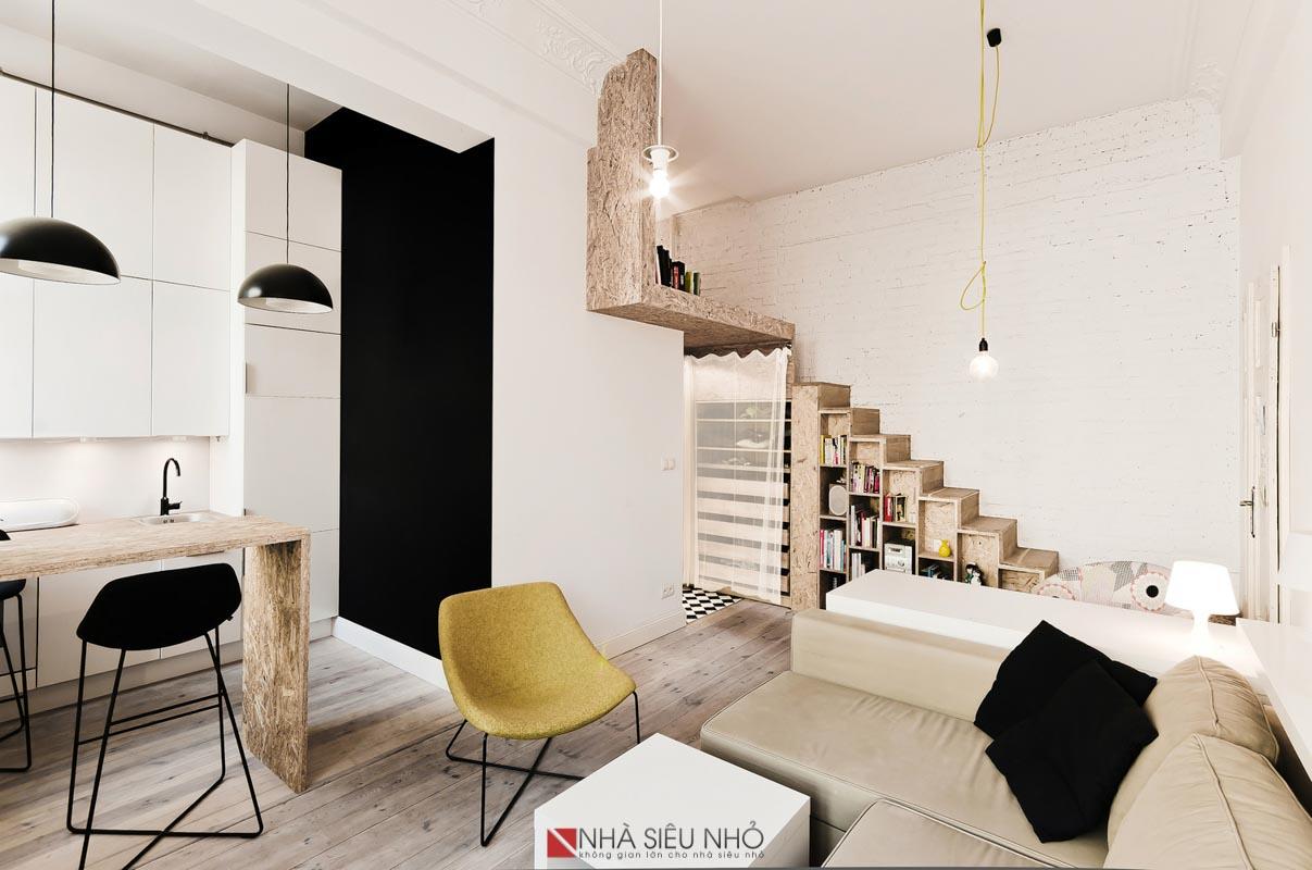 Không gian nội thất liên hoàn